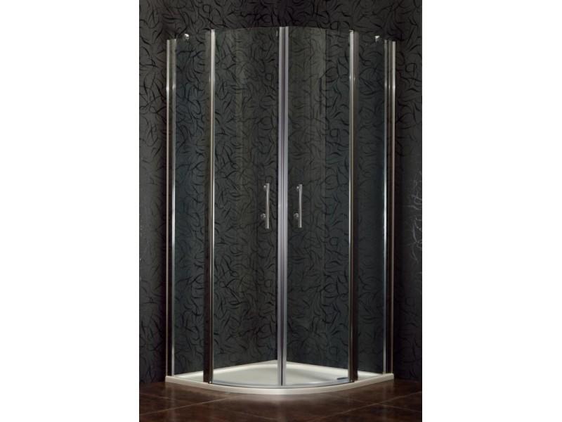 DOVER 90 Clear Sprchovací kút štvrťkruhový