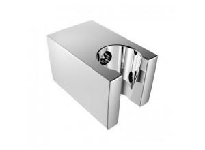 Pevný držiak sprchy, hranatý, 57mm, ABS / chróm