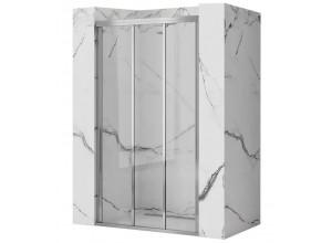 AXEL 80 chróm Well Sprchové dvere trojdielne - posuvné