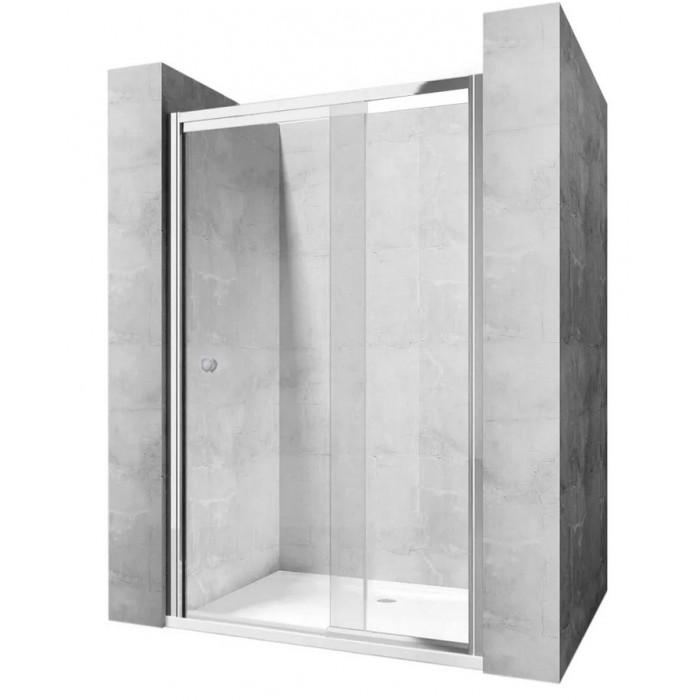EKTOR 77 - 97 Well Sprchové dvere s teleskopickým rámom