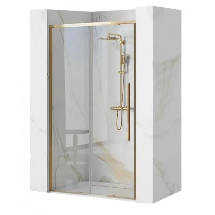 Larose GOLD 120 Well Sprchové dvere so zlatými profily