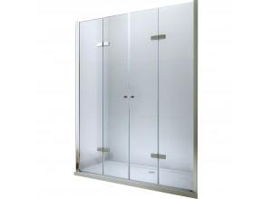 LUCIO DOUBLE 127 Clear Well Sprchové dvere zalamovacie