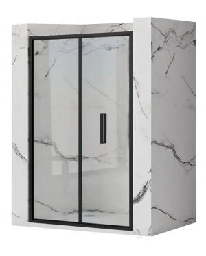 RAFO BLACK 90 Well Sprchové dvere zalamovacie