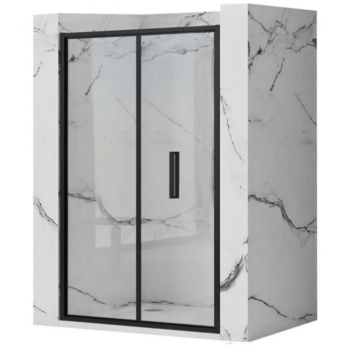 RAFO BLACK 100 Well Sprchové dvere zalamovacie