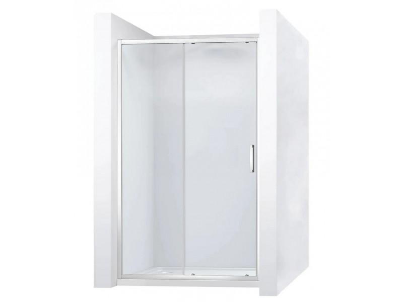 SLIPR 100 Well Sprchové dvere - jednoduchá montáž CLICK-click