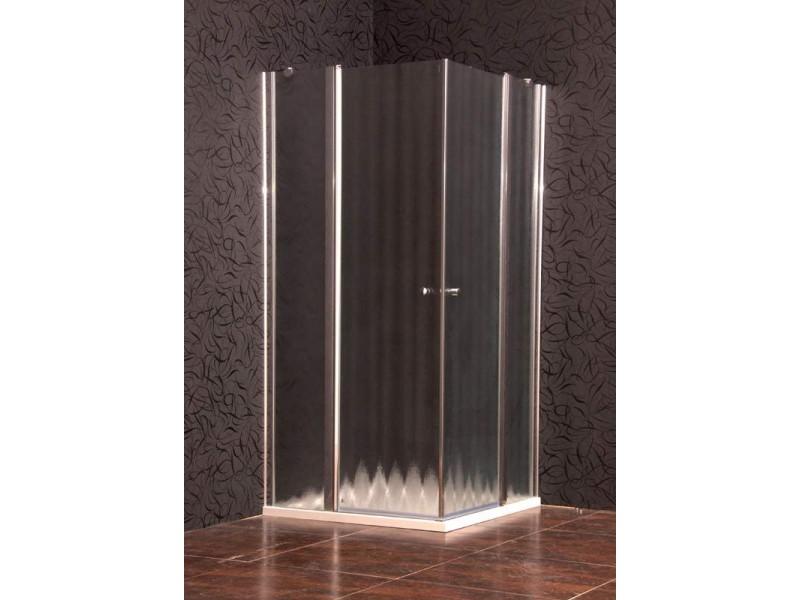 ELEGANT 90 chinchila New Arttec sprchová zástena štvorcová s mramorovou vaničkou