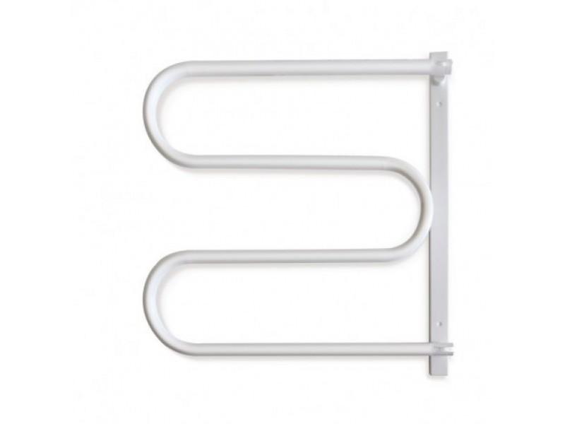 ES2 - biely Olsen-Spa kúpeľňový sušiak uterákov otočný