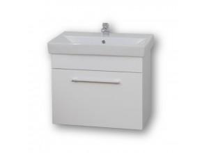 FUN 60 Olsen-Spa kúpeľňová skrinka + keramické umývadlo