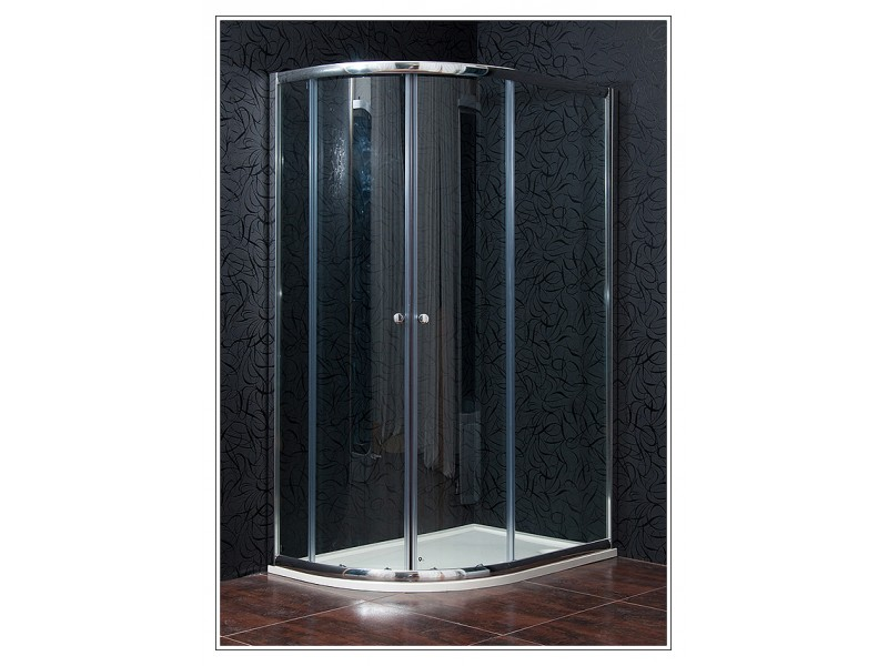 KLASIK 80x120 New clear pravá Arttec sprchový kút s vaničkou STONE