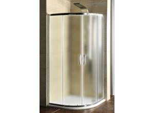 AKČNÝ SET AG4295 Gelco Sprchovací kút štvrťkruhový s vaničkou z liateho mramoru Semi