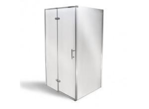 MANU 80 x 100 cm Well Luxusné obdĺžniková sprchová zástena