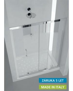 MAYA 150 × 190 cm sklo číre Hopa sprchové dvere