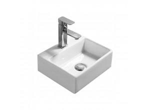 MODESTO mini umývadlo na dosku 33 x 29 biele