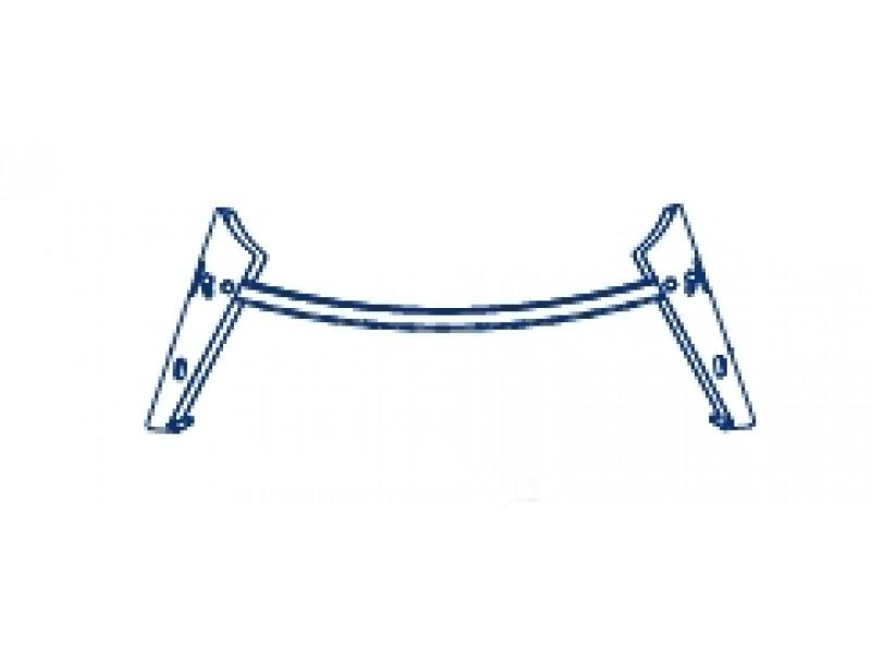 FERRARA Olsen-Spa nožičky k sedací vaně - kov