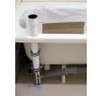 VPSET0018 Nosník pre otočné umývadlo, vrátane montážneho príslušenstva
