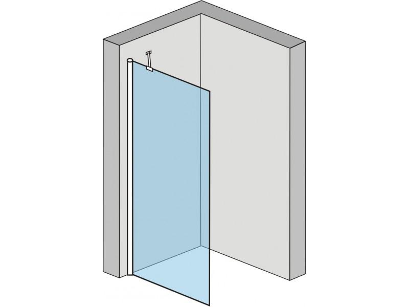 Alfa 80 Clear Well Pevná sprchovací zastena