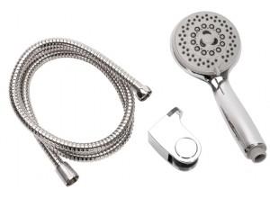 PIERRE Sprchový set sprchovej hlavice, hadice a držiaku na stenu