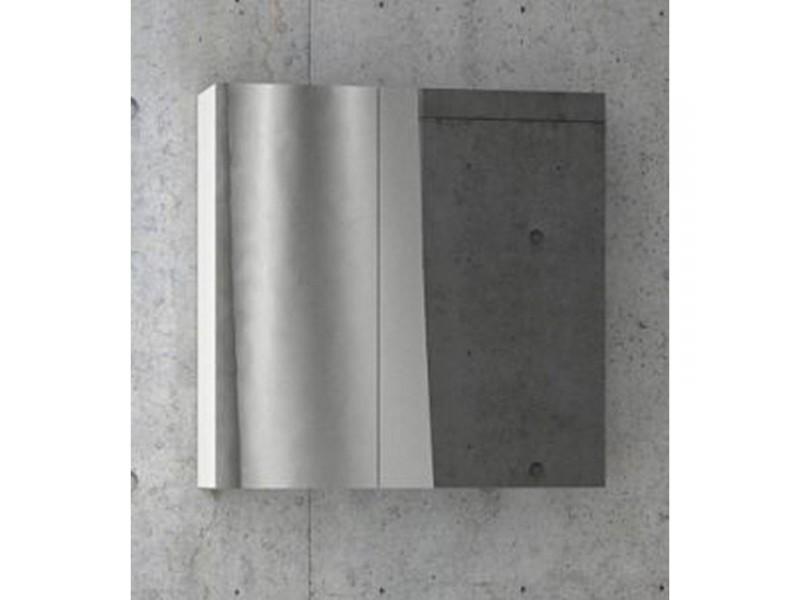 FOCUS 55 Olsen-spa Skrinka so zrkadlom, biela