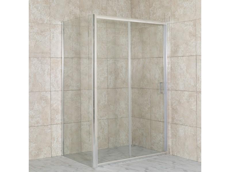 DIAS COMBI 140x90 číre Well sprchová zástena obdĺžniková
