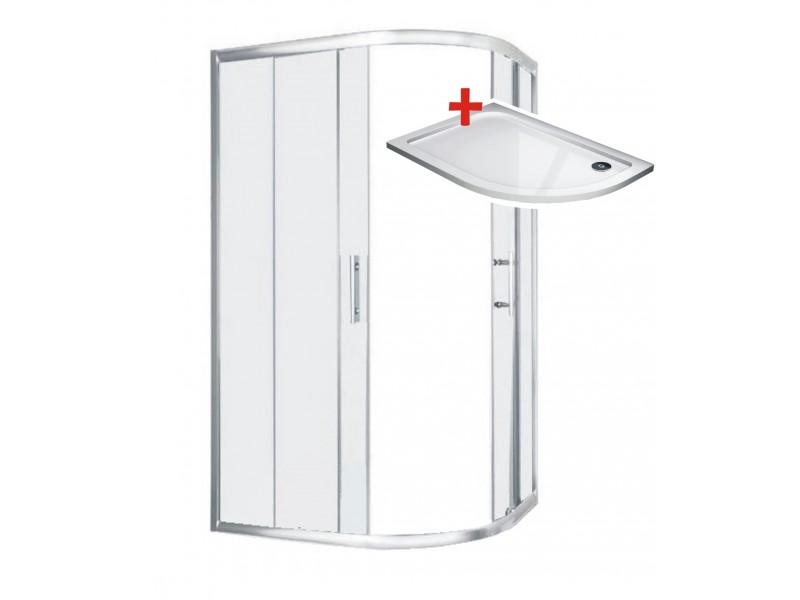 TORINO ROCKY 100x80 Ľavý Well Sprchovací kút