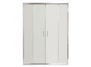 COSTA 130 Clear Well Štvordielne sprchové dvere posuvné