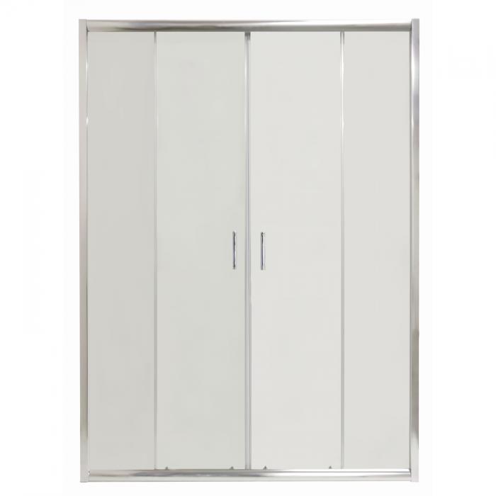 COSTA 160 Clear Well Štvordielne sprchové dvere posuvné