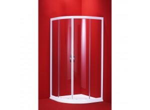 SUE W 100 clear ROCKY Well Luxusné sprchová zástena štvrťkruhová