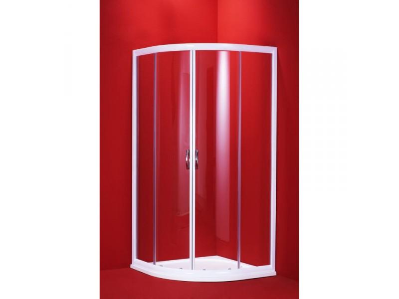 SUE 100 CLEAR Well Luxusné sprchová zástena štvrťkruhová