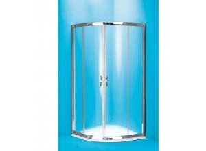SUE C 80 grape ROCKY Well Luxusné sprchovací kút s mramorovou vaničkou