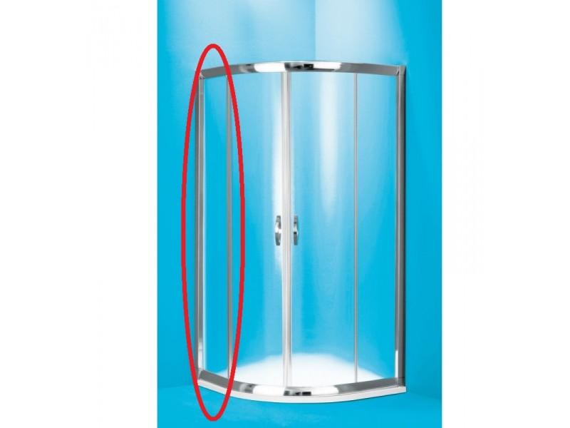 SUE C 80 clear ROCKY Well Luxusné sprchovací kút s mramorovou vaničkou