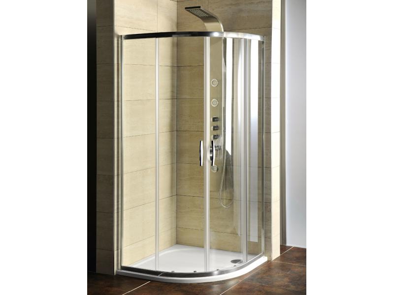 AKČNÝ SET AG4290 Gelco Sprchovací kút štvrťkruhový s vaničkou z liateho mramoru Semi