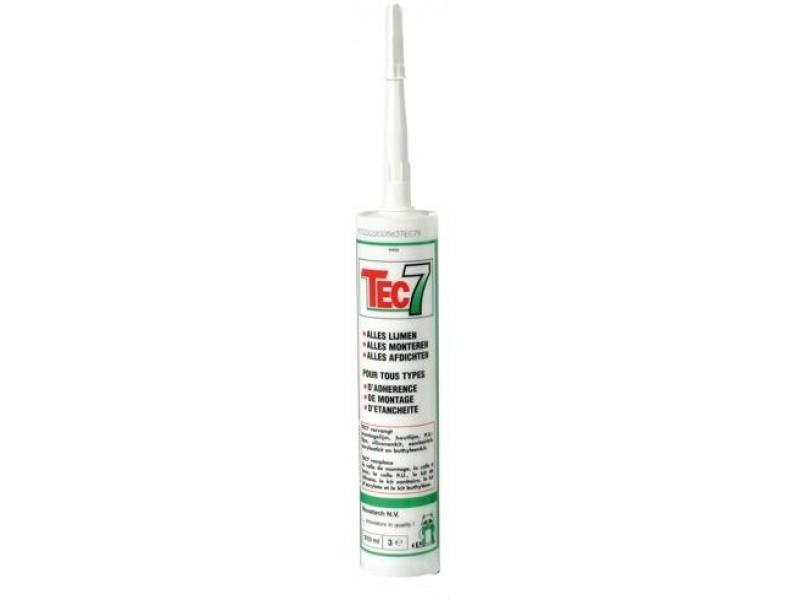 TEC 7 biela silikón - lepidlo / tmel