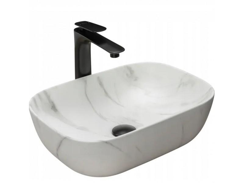 BRICE marmo Well Umývadlo na dosku, mat