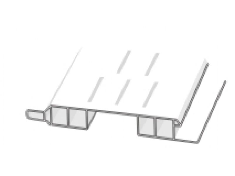 D410603 Hopa Ventilačné profil vonkajší 43 jelša 3m