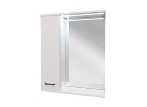 VILIO 80 L Zrkadlová skrinka s LED osvetlením, ľavá